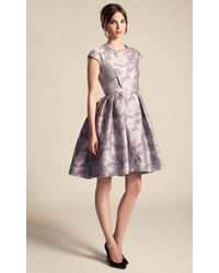 Temperley London Rosa Jacquard Structured Dress - Lyst