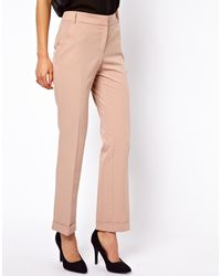 Asos Pants with Jet Pocket - Lyst