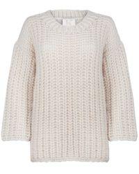 Kelly Love - Buttermilk Hand-knit Sweater - Last One - Lyst