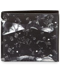 Givenchy Camo Rose Billfold Wallet - Lyst