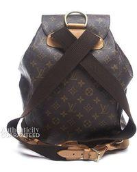 Louis Vuitton Pre-owned Monogram Canvas Montsouris Gm Backpack - Lyst