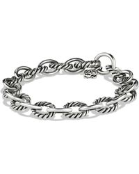 David Yurman - 'oval' Link Bracelet - Lyst