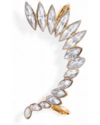 BaubleBar Winged Crystal Ear Cuff - Lyst