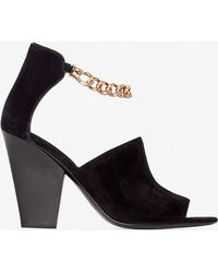 3.1 Phillip Lim Berlin Chain Ankle Strap Heel - Lyst