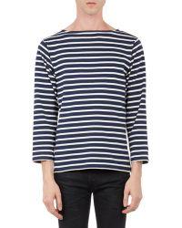 Saint Laurent Stripe Sweater - Lyst