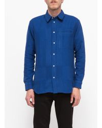 Need Supply Co. Collared Over Shirt blue - Lyst