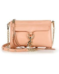 Rebecca Minkoff Mini Mac Convertible Crossbody Bag - Lyst