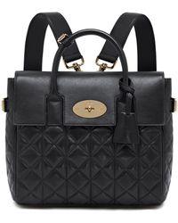 Mulberry Cara Delevingne Bag black - Lyst