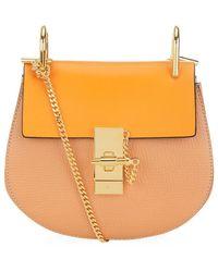 Chloé Mini Drew Bicolour Shoulder Bag - Lyst