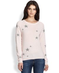 Chinti & Parker Star-Patterned Wool Sweater - Lyst
