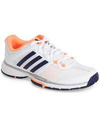 Adidas 'Adipower Barricade Team 4' Tennis Shoe - Lyst