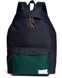 Nanamica - Contrast Pocket Cordura® Twill Backpack - Lyst