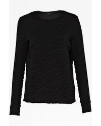 French connection Rocky Road Textured Sweater - Lyst