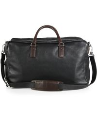 Marc By Marc Jacobs Pebbled Leather Duffle Bag - Lyst