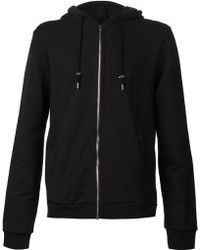 Raf Simons Back-print Zip-through Sweatshirt - Lyst