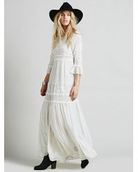 Free People Say You Love Me Maxi - Lyst