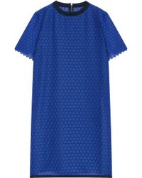 Boy by Band of Outsiders Lk32 Ss Dress W Lace Panel - Lyst