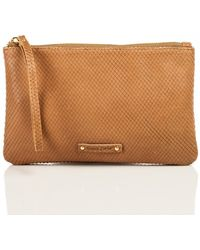 Linea Pelle Extra Large Snake Cosmetic Bag - Lyst