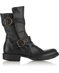 Fiorentini + Baker Eternity Leather Biker Boots - Lyst