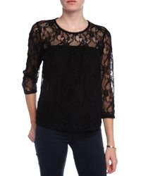 Sea New York Peasant Lace Top - Lyst