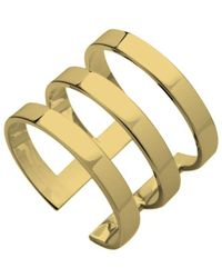 Jennifer Zeuner Yvette Three Band Ring - Lyst
