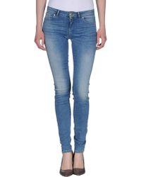 Miss Sixty Denim Trousers blue - Lyst