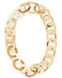Maiyet - Horn/gold Metal Link Necklace - Lyst