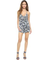 Joe's Jeans The Contender Romper - Electric Geode Print - Lyst