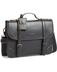 Ted Baker Black Leather Shoulder Bag 7