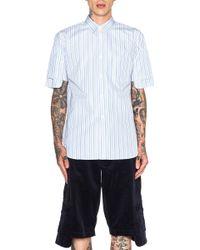 Comme des Garçons Men'S Pocket Sleeve Shirt - Lyst
