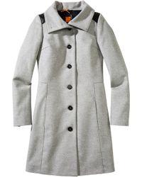 BOSS Orange - Coat 'Okirana1' In Wool Blend - Lyst