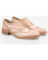 Paul Smith Dip-Dyed Light Pink Leather 'Milena' Brogues - Lyst