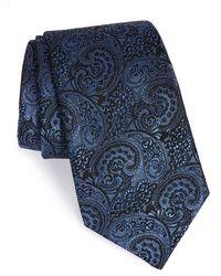 Michael Kors - 'cromwell' Paisley Silk Tie - Lyst