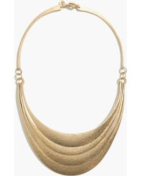 Madewell Plate Collar Necklace - Lyst