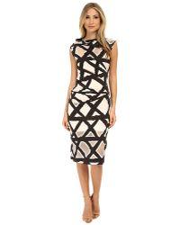 Vivienne Westwood Anglomania Taxa Jersey Dress - Lyst
