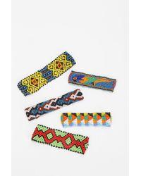 Urban Outfitters - Mondrina Seed Bead Bracelet - Lyst