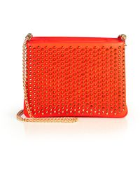 Christian Louboutin | Tribouli Spiked Crossbody Bag | Lyst