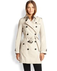 Burberry London Buckingham Double-Breasted Trench - Lyst