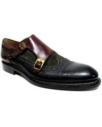 JOSE REAL DOUBLE MONK STRAP CAPTOPE WINGTIP