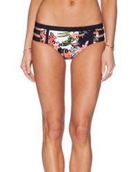 Nanette Lepore Havana Tropical Doll Bikini Bottom - Lyst
