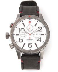 Nixon 'Chrono' Watch - Lyst