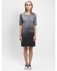 Blankblank Lava Stone Dress gray - Lyst