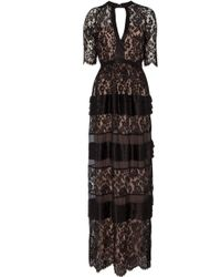 Temperley London Long Newton Lace Dress - Lyst