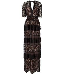 Temperley London Long Newton Lace Dress - Lyst