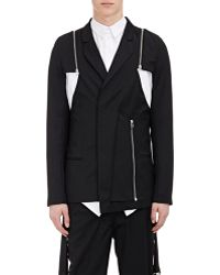Hood By Air | Zip-Off-Sleeve Twill Sportcoat | Lyst