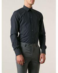 Dolce & Gabbana Fine Check Shirt - Lyst