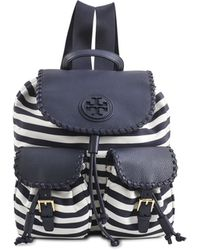 Tory Burch Marion Nylon Backpack - Lyst