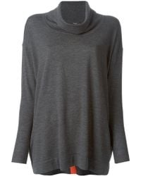Paul Smith Oversized Button Back Sweater - Lyst