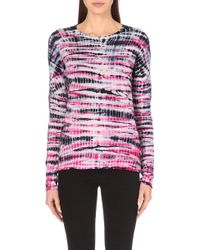 Proenza Schouler Tie-Dye Cotton-Jersey Top - For Women - Lyst