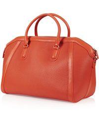 Topshop Tara Luggage Bag - Lyst